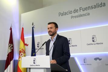 El consejero de Desarrollo Sostenible, José Luis Escudero, anuncia la aprobación de la Declaración de Emergencia Climática de Castilla-La Mancha