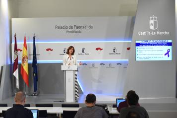 Rueda de prensa de la portavoz Blanca Fernández (III)