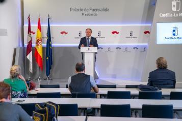 Rueda de prensa del Consejo de Gobierno Juan Alfonso Ruiz Molina