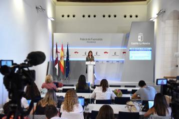 Rueda de prensa del Consejo de Gobierno Blanca Fernández (IV)