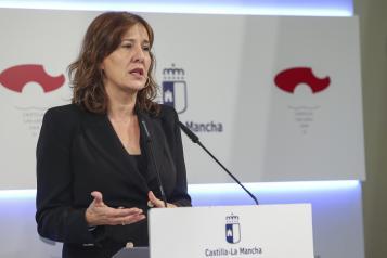 Rueda de prensa del Consejo de Gobierno (Blanca Fernández II)