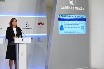 Rueda de prensa del Consejo de Gobierno (Blanca Fernández 6 Noviembre III)