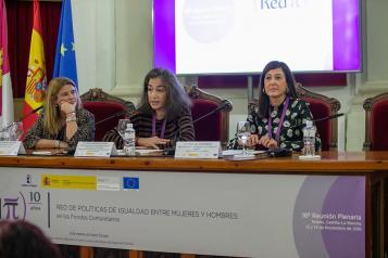 El Gobierno regional explica sus buenas prácticas en el uso de fondos europeos para integrar la perspectiva de género en las políticas públicas