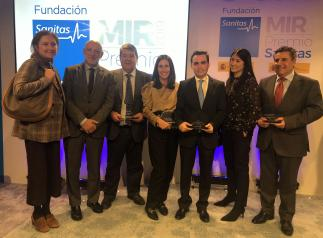 El Complejo Hospitalario Universitario de Toledo copa todos los premios de la Fundación Sanitas por su calidad docente