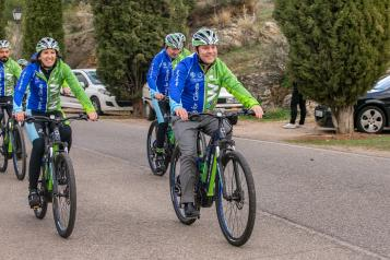 Ruta ciclista por el clima 'Moving for climate Now'