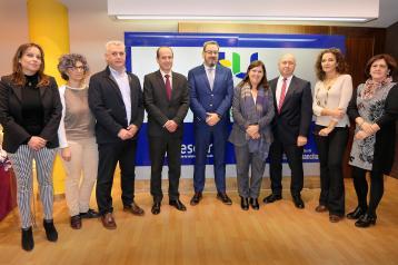 Presentación del nuevo gerente de la Gerencia de Atención Integrada de Guadalajara