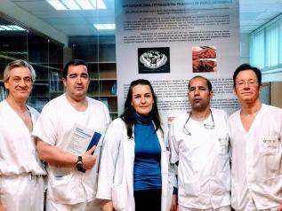 Cirujanos del Hospital de Manzanares presentan uno de los mejores casos clínicos en la última reunión nacional de la especialidad