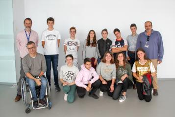 Neurobiólogos del Hospital Nacional de Parapléjicos promueven vocaciones científicas en estudiantes de la ESO a través del Club de la Ciencia