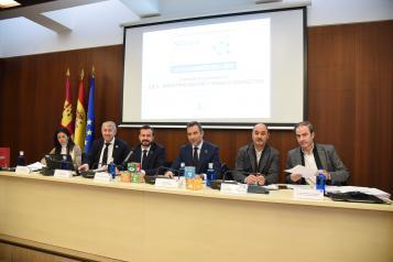 El consejero de Desarrollo Sostenible, José Luis Escudero, preside la Sexta Comisión de Seguimiento del Pacto por la Recuperación Económica en Castilla-La Mancha 2015-2020