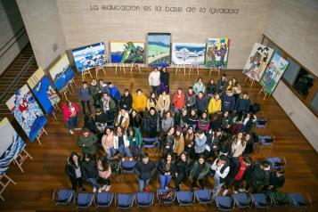 """El Gobierno regional destaca el proyecto del IES 'Guadalerzas' de Los Yébenes """"para que alumnos y alumnas daltónicos puedan percibir la vida a todo color"""""""