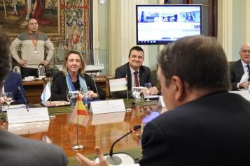 El consejero de Agricultura, Agua y Desarrollo Rural, Francisco Martínez Arroyo, asiste a la reunión del Consejo Consultivo de Política Agrícola para asuntos comunitarios