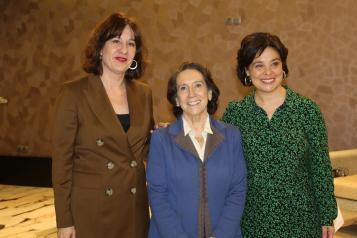 La consejera de Igualdad y portavoz del Gobierno regional, Blanca Fernández, asiste a la Rueda Solidaria organizada por el Club Rotario de Ciudad Real