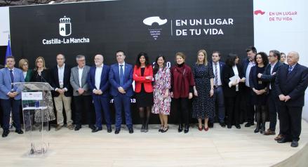 Presentación actividades del Día de Albacete en FITUR