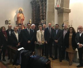 Javier Úbeda y David Gómez Arroyo comparten con los navalqueños los actos organizados con motivo de las fiestas en honor a San Pablo