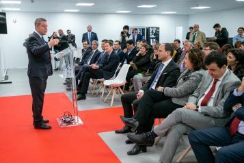 Inauguración de la nueva planta de la multinacional Bell Group en Fuensalida (Toledo) (II)