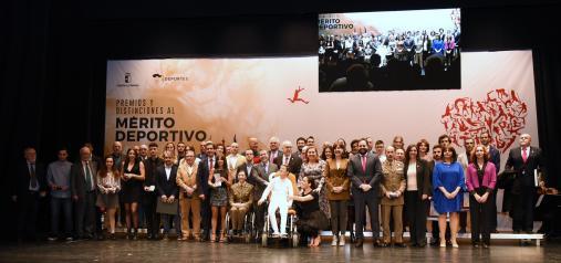 El Gobierno regional felicita a los galardonados en los premios del deporte y señala que son todo un ejemplo para los jóvenes de Castilla-La Mancha