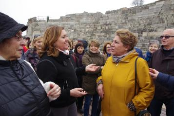 El Gobierno regional asegura que la gestión de Segóbriga es un ejemplo de colaboración en materia de Patrimonio entre instituciones
