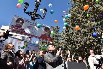 El Gobierno de Castilla-La Mancha muestra su apoyo a las niñas y niños con cáncer y a sus familias en los actos organizados por AFANION
