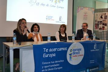 Alumnas y alumnos de la Escuela de Arte 'Elena de la Cruz' representarán a Guadalajara en la conmemoración regional del Día de Europa