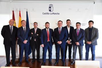 Reunión con la Asociación de Zonas Industriales de Castilla-La Mancha (ZINCAMAN)