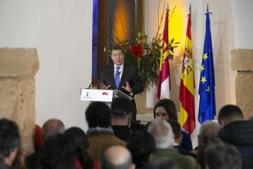 Firma del 'Pacto contra la Despoblación de Castilla-La Mancha'. en Brihuega (II)