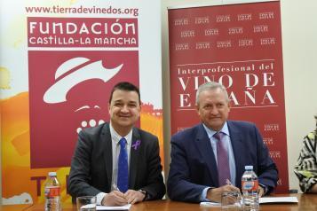 Francisco Martínez Arroyo, presenta el convenio de colaboración entre la Fundación y la Organización Interprofesional del Vino de España