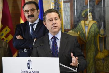 El presidente García-Page se reúne este viernes con Núñez y Picazo para informarles de las últimas novedades y medidas adoptadas sobre el coronavirus