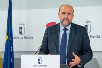 eunión con los responsables de los partidos políticos con representación en las Cortes de Castilla-La Mancha (vicepresidente)
