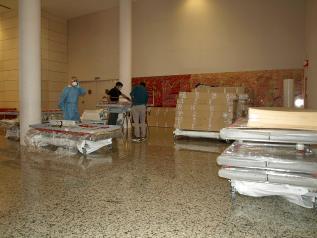 El Hospital General de Tomelloso optimiza al máximo sus recursos y habilita 90 nuevas camas para hacer frente al coronavirus