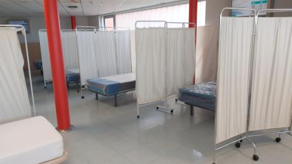 El Hospital Mancha Centro sigue habilitando camas y ya dispone de 549 para hacer frente a la pandemia del coronavirus