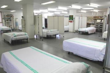 El Hospital de Guadalajara habilita un área de preingreso en la Unidad de Día de Geriatría para la atención ante un eventual aumento de los ingresos