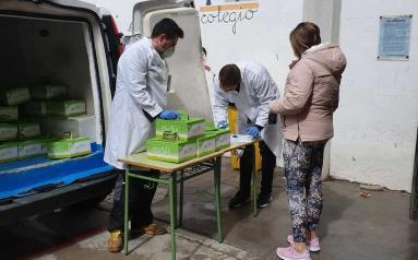 El Gobierno regional garantiza también durante el periodo de Semana Santa la alimentación del alumnado becado con ayudas de comedor escolar