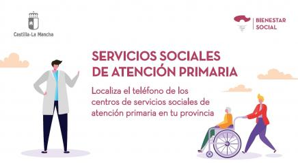 El Gobierno de Castilla-La Mancha facilita la intervención de los profesionales de Servicios Sociales de Atención Primaria mediante dispositivos móviles