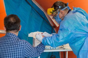 Castilla-La Mancha ha realizado más de 6.600 test rápidos para detección del coronavirus a profesionales, pacientes y mayores en residencias