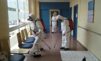 Operativo de GEACAM hoy en 3 centros de atención a personas con discapacidad en Albacete