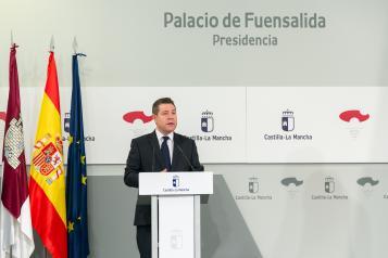 Videoconferencia con presidentes autonómicos para abordar el problema del coronavirus (Presidente)