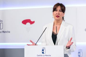 Rueda de prensa de la consejera de Igualdad y portavoz del Gobierno Regional