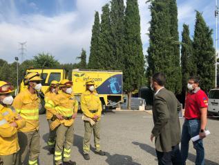 El consejero de Desarrollo Sostenible presenta la campaña de prevención y extinción de incendios forestales 2020