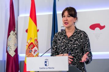 Consejo de Gobierno en el Palacio de Fuensalida (26 de mayo) (Portavoz)