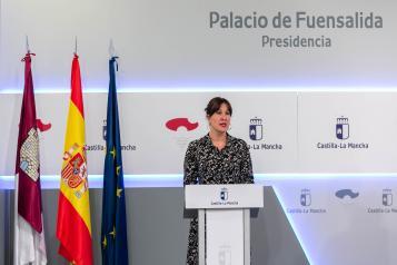 Consejo de Gobierno en el Palacio de Fuensalida (26 de mayo) (Portavoz) (III)