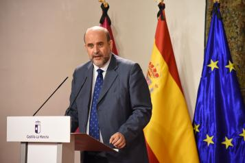 Firma del Acuerdo por la reconstrucción social y económica de Castilla-La Mancha (Vicepresidencia)