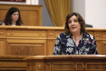 Pleno de las Cortes regionales (4 de junio) Patricia Franco