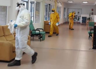 El Gobierno de Castilla-La Mancha ha realizado un total de 36 desinfecciones en las 9 residencias de mayores de la ciudad de Toledo