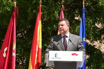 Firma del protocolo del Plan de Infraestructuras de Cuenca y la presentación del estudio de los remontes de acceso al casco histórico (Presidente)