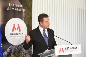 Visita a la empresa Mediapost en Yeles (Presidente)