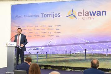 Inauguración de nueva planta fotovoltaica en Novés (Toledo) (Desarrollo Sostenible)