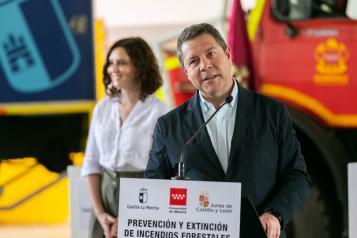 Firma de protocolos de colaboración con Madrid y Castilla Y León en prevención de incendios y emergencias (II)