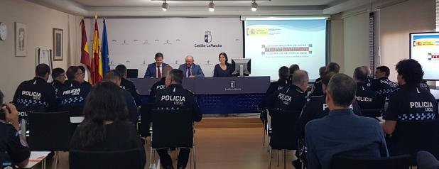 El Gobierno regional convocará próximamente un proceso selectivo para cubrir hasta 35 plazas de policía local para 16 ayuntamientos