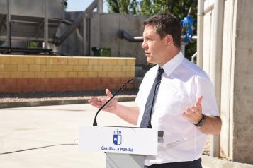 Inauguración de la nueva depuradora de Cifuentes (Guadalajara) (I)