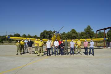 El Gobierno de Castilla-La Mancha pide a la ciudadanía responsabilidad y máxima prudencia en estos días de altas temperaturas para evitar incendios forestales